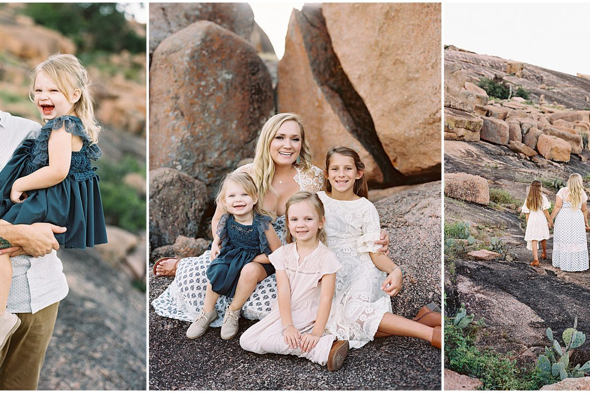 Our Enchanted Rock Family Photo Shoot !